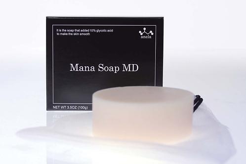 Пилинг-мыло с содержанием гликолевой кислоты 10%