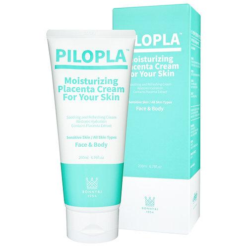 Крем плацентарный увлажняющий для чувствительной и поврежденной кожи, 200 мл