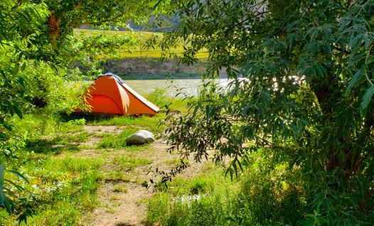 Camp Under the Big Sky