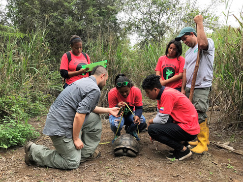 Protecting Islands in the Galapagos