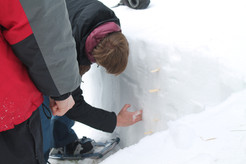 Surveying the snow pack