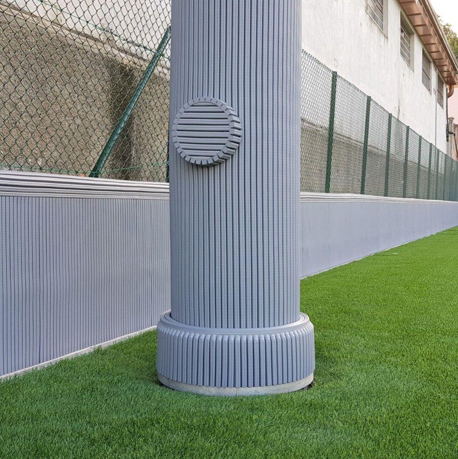 pillar-wall-guard-field-compressor