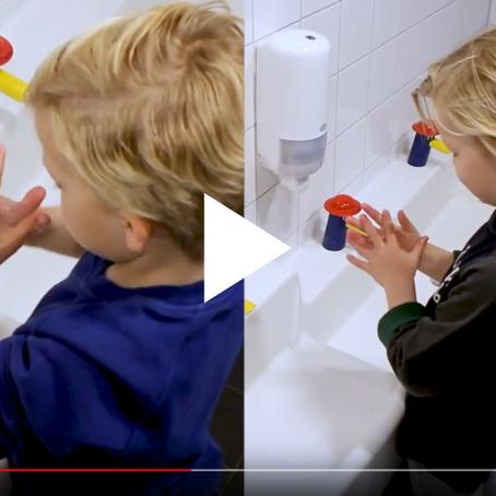 """""""Handwashing for the little ones"""" - Arte Viva"""