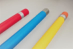 Corner Guard Deluxe Pen - red and blue +