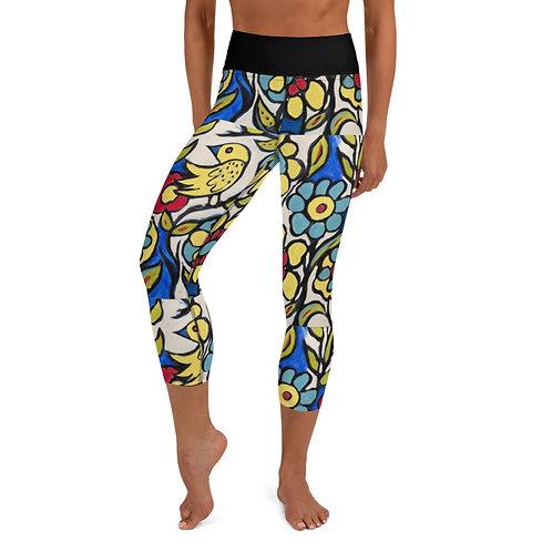 Primary Colors Yoga Capri Leggings
