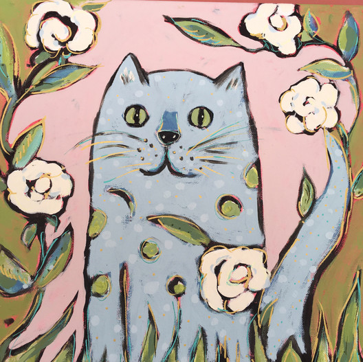 Menagerie Suite: Green-eyed Cat