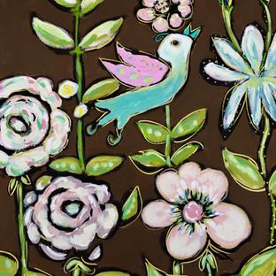"Bird Song Suite:"" In the Gardens of Honfleur #1"""