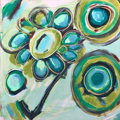 Dance of Turquoise & Sage, #2