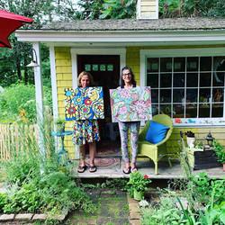 Sisters + Summer= Artful Fun