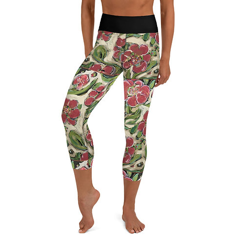 Cooper Island Yoga Capri Leggings