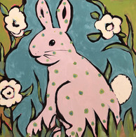 Menagerie Suite: Antoinette the Pink Bunny