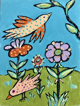 """Bird Song Suite: """"In the Gardens of Provence #2"""""""