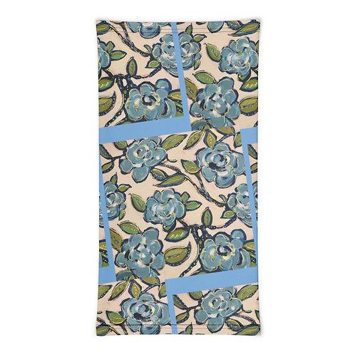 Blue Roses Neck Gaiter