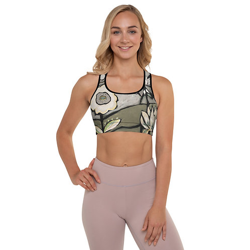 White Pepper Sports Bra ( with removable padding)