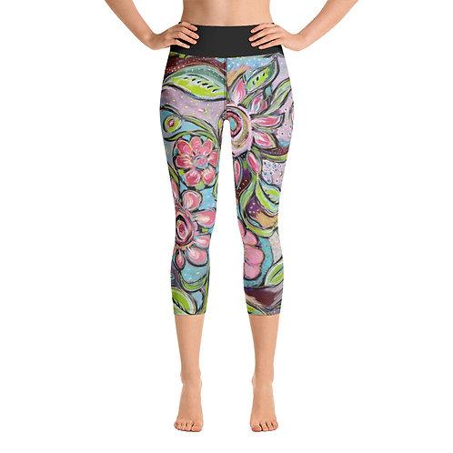 New Beginnings Yoga Capri Leggings