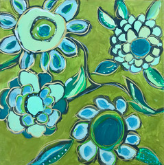 Dance of Turquoise & Sage, #1