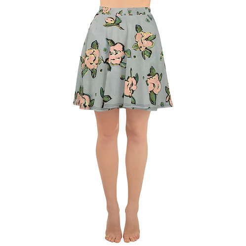 Pink Roses  Skirt