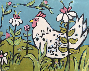 Chicken in the Gardens of Provence