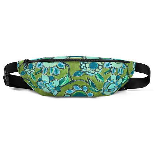 Dance of Turquoise & Sage Fanny Pack
