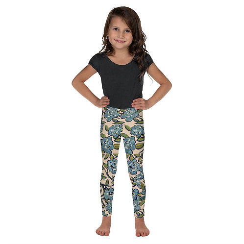 Blue Roses Kids Leggings