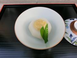 小蕪の柚味噌かけ