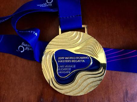 Detroit Boat Club Crew Strikes Gold at World Masters Championships