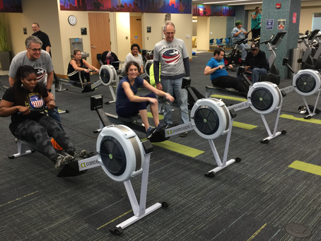 Freedom Rows at Veterans Erg Race