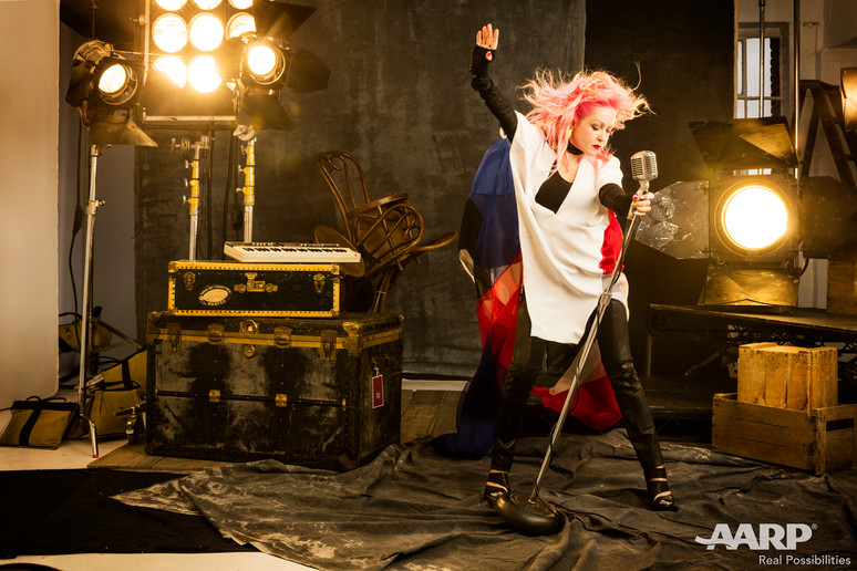 In the Spotlight with Cyndi Lauper