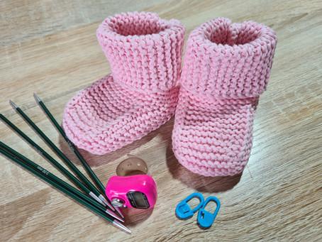 Babyschuhe Strickanleitung