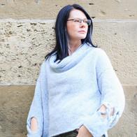 Maßgestrickter Pullover