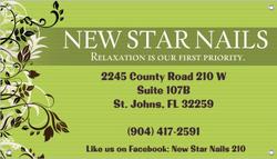 New star nails logo