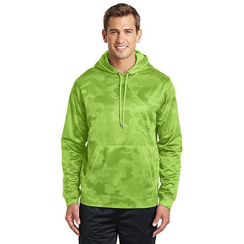 Sport-Tek® Sport-Wick® CamoHex Fleece Hooded Pullover [MB]