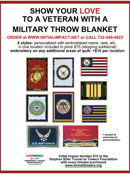 military throw blanket