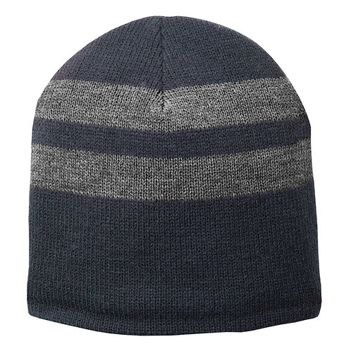 Port & Company® Fleece-Lined Striped Beanie Cap [MB]