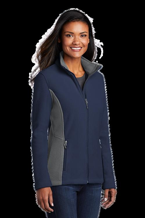 Port Authority® Ladies Colorblock Value Fleece Jacket [LF]