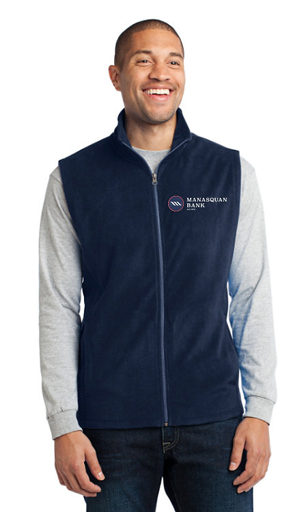 Men's Port Authority Microfleece Vest [MB]