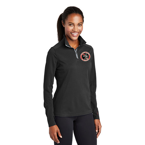 Ladies' Black 1/4 Zip