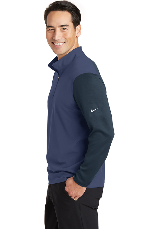 Nike Dri-FIT Fabric Mix 1/2-Zip Cover-Up [MB]