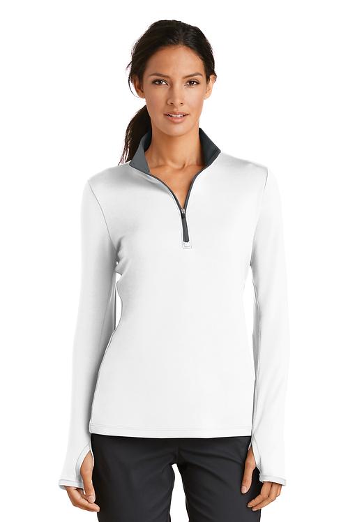 Nike Ladies Dri-FIT Stretch 1/2-Zip Cover-Upt [MB]