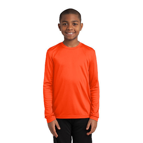 Sport-Tek® Youth Long Sleeve PosiCharge® Competitor™ Tee [MB]