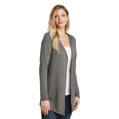 District ® Women's Perfect Tri ® Hooded Cardigan [SAF]