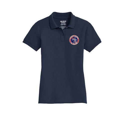 Ladies' Navy Polo Shirt