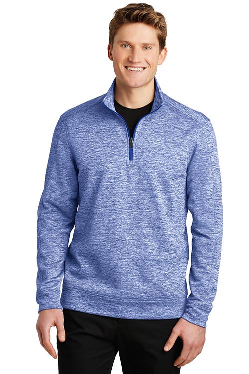 Sport-Tek® PosiCharge® Electric Heather Fleece 1/4-Zip Pullover [LF]