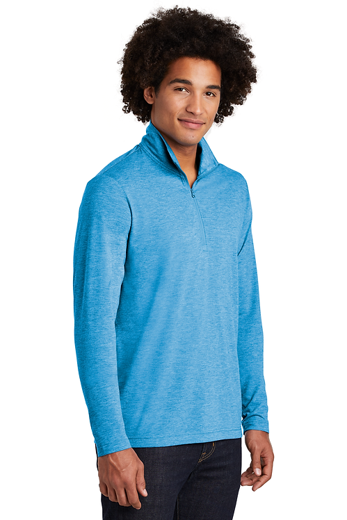 Sport-Tek ® PosiCharge ® Tri-Blend Wicking 1/4-Zip Pullover [MB]
