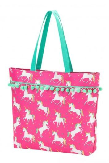 unicorn wishes tote