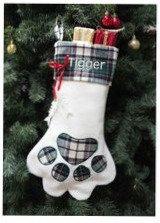 pet christmas stocking -cat
