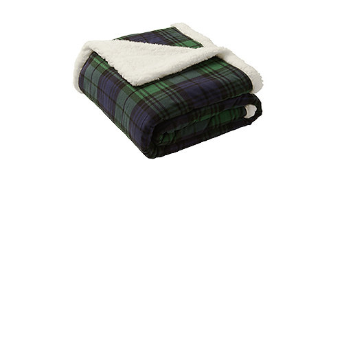 Port Authority ® Flannel Sherpa Blanket [MB]