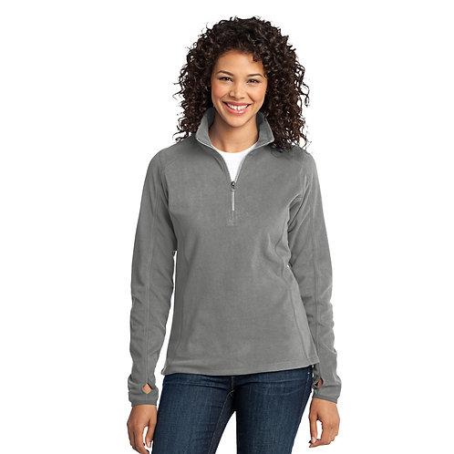 Port Authority® Ladies Microfleece 1/2-Zip Pullover [SAF]