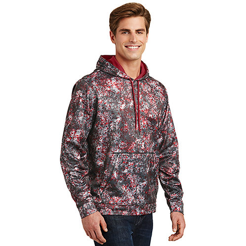Sport-Tek® Sport-Wick® Mineral Freeze Fleece Hooded Pullover [MB]