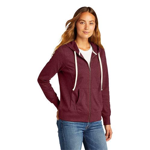 District® Women's Re-Fleece™ Full-Zip Hoodie [MB]